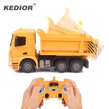 100 Big Toy Dump Truck RC Electric Engineering Machine Radio