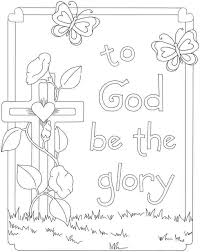 Creative Ideas Printable Christian Coloring Pages For Children Image Gallery Collection
