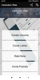 Curriculum Vitae App CV Builder Resume CV Maker For Android ... Free Resume Builder Professional Cv Maker For Android Examples Online Why Should I Use A Advantages Disadvantages Best Create Perfect Now In 2019 Novorsum Ebook Descgar App Com Generate Few Minutes 10 Building Apps Last Updated November 14 Get Started