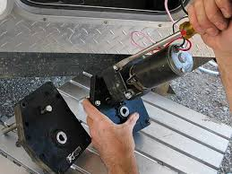 Diy Remove A Camper Jack by How To Repair Fifth Wheel Landing Gear Dc Motor Gearbox