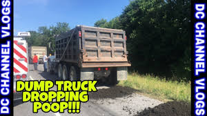 100 Dump Truck Drivers DUMP TRUCK DRIVER DUMP POOP ON HIGHWAY VLOG YouTube