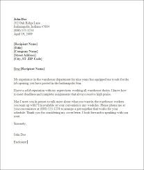cover letter sample warehouse worker warehouse cover