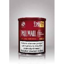 prix pot de tabac tabac pall mall au plaisir de vivre
