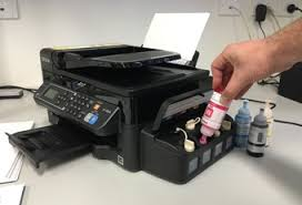 Fortunately If Youre A Heavy User The Replacement Bottles Of Ink Are Relatively Cheap At Just 1699 Each Except For ET 4550s Larger Black
