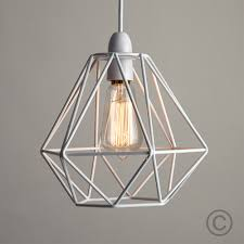 Modern Industrial Style Metal Wire Frame Ceiling Light Shades Squirrel Cage Bulb In Home Furniture DIY Lighting Lampshades Lightshades