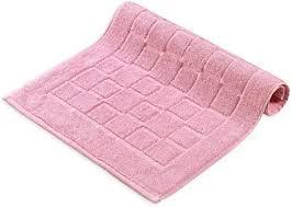 melunda badematten hotel duschvorleger badteppich badezimmerteppich duschvorleger badematte badeteppich set waschbar rosa 50 x 70 cm