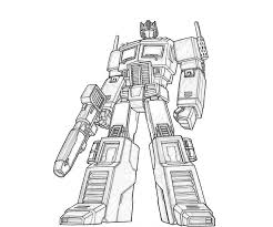 Printable Transformers Coloring Pages For Print