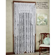 Lace Curtains Panels With Attached Valance by Curtain Lace Curtain Irish Heritage Lace Curtains Lace