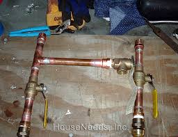 Copper Pex Irrelevant Plumbing Diy Home Improvement Plumbing The Water Connections Tankless Water Heater Install Diary From e Our Customers