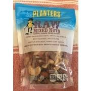 Planters Raw Mixed Nuts Calories Nutrition Analysis & More