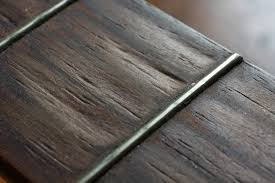 Fret And Fretboard Wear The Customer Wants Guitar To Play Well Without Buzz Keep Original Frets He Also Maintain