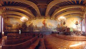 santa barbara court house mural room photograph photograph by
