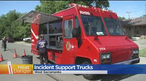 Special Trucks Aide Firefighters On Days With Excessive Heat « CBS ... Food Truck Regulations Could Be Getting An Overhaul Dtown Raw Vegan Chef Renee Houston Trucks Roaming Hunger Entpreneur To Leave Sacramento Due Frustrations With City Faces And Places Truck Expo Tahoe Park Valley Community Yummi Bbq Wrap Custom Vehicle Wraps Ctown Creamery Alist King Kabob Insurance In Cliff Cottam Services Inc Sfoodtruckwrapinc News Newslocker Southgate Recreation Districts Mania Presented Buckhorn Scribe Creative Agency