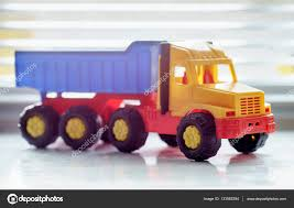 Toy Dump Truck Close Up — Stock Photo © Supertrooper #133582394