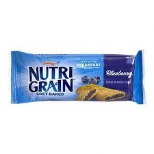 Nutri Grain Blueberry Cereal Bar