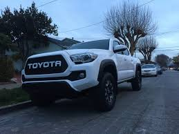 100 Kidds Trucks Black Mesh White Toyota Letters 2016 Tacoma Grill 2016 Toyota
