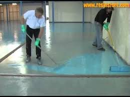 how to apply epoxy resin flooring reactive resins uk my stuff
