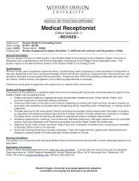 Medical Secretary Resume Sample Objective Top 8 Samples 1 Examples For Executive Template Assistant Templat