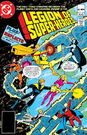 Legion Of Super Heroes The Continues Battle With Grimbor As His Cosmic Chains Draw Ever Tighter Around Earth