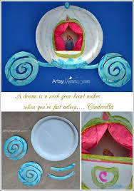 Cinderellas Carriage Paper Plate Craft
