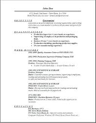 Federal Government Resume Template Example Job Sample Format For Veterans