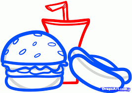 how to draw food for kids step 5