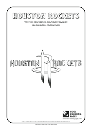 Cool Coloring Pages Basketball Clubs Logos Western Conference Nba Team Logo Printable Full Size