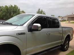 Window Deflectors - Ford F150 Forum - Community Of Ford Truck Fans 1950 Ford Truck Vent Window For Modern Blacked Out 2017 F150 With Grille Guard Topperking Headache Rack 092017 Dodge Ram 1500 Egr Inchannel Rain Guards 572751 Amazoncom 2015 Silverado Double Cab Visors Wind Deflectors Real Carbon Fiber Side F234550 4door 199311 Ranger Front In Jsp 2180 Sportage Deflector Fits Kia Splash Gatorback By Hdware Rear Pair Drw Wblack Ladder Rack The Toyota Hilux 2016 Onwards 4x4 Accsories Tyres Product Categories Troy Products