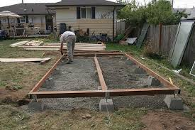 how to build a large shed base free shed plans and designs