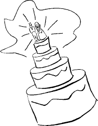 Wedding clipart black and white free