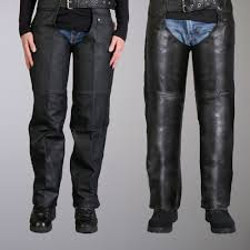 leathers heavyweight unisex leather chaps
