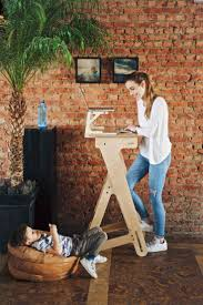 desk b beautiful stand up sit down desk amazon com workez