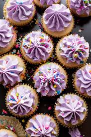 Softest fluffiest from scratch homemade funfetti cupcakes Moist and flavorful with creamy vanilla buttercream