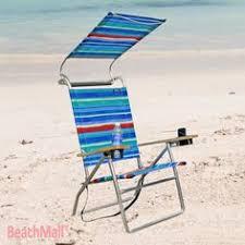 Copa Beach Chair With Canopy by Http Www Beachmall Com High Back Rio Beach Chair 5 Position