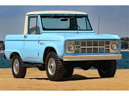 1966 Ford Bronco For Sale | ClassicCars.com | CC-1020675 1969 Ford Bronco Half Cab Jared Letos Daily Driver Is A With Flames On It Spied 2019 Ranger And 20 Mule Questions Do You Still Check Trans Fluid With Truck In Year Make Model 196677 Hemmings 1966 Service Pickup T48 Anaheim 2016 Indy U101 Truck Gallery Us Mags 1978 Xlt Custom History Of The Bronco 1985 164 Scale Custom Lifted Ford