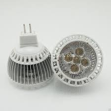 5w 12v high bright cree led spotlight bulb with gu5 3 base mr16