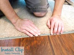 Types Of Transition Strips For Laminate Flooring by How To Install Floating Laminate Wood Flooring Part 3 The