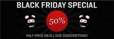 50 Off On Black Friday by Woothemes Black Friday Sale U2013 50 Off On Subscription Plan