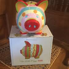 Cupcakes And Cartwheels Piggy Bank