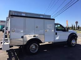 2006 Used Ford Super Duty F-550 Enclosed Utility Service Truck ESU ...