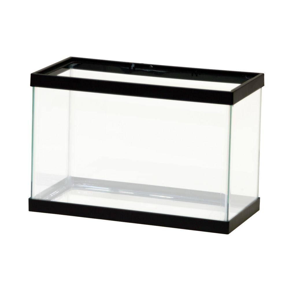 "Aqueon Aquarium Fish Tank - Black, 12"" x 6"" x 8"", 2.5gal"