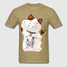cat t shirts lucky cat t shirt spreadshirt