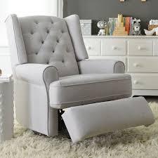 Atemberaubend Gray Glider Recliner Chair Swivel Bolero ...