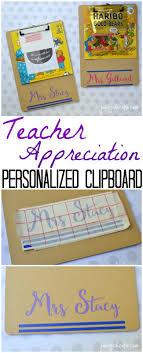 Personalized Teacher Gift Clipboards Teacher Appreciation