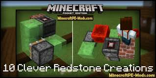 10 clever redstone creations map for minecraft pe 1 2 5 1 2 3
