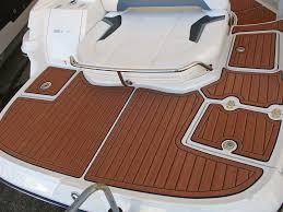 Non Skid Boat Deck Pads by Seadek Helm Pad Large Non Skid Faux Teak Boston Whaler Logo Boat Mat