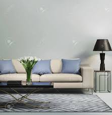 100 Designer Modern Sofa Light Blue Contemporary Stock Photo Picture And Royalty