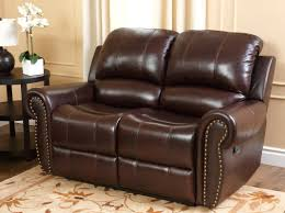 Darby Home Co Barnsdale Leather Reclining Loveseat & Reviews