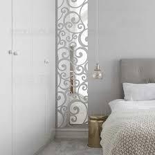 spiegel wand aufkleber decals wände zimmer aufkleber schlafzimmer haus kinder grillwork swirly vintage reben fries listello grenze r176