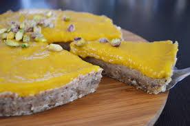 mango nuss kuchen vegan